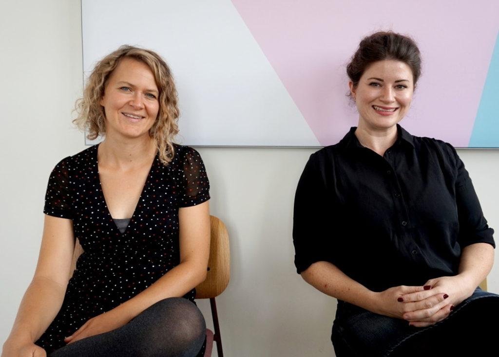 Dr. Ingrid Rupp und Marlen Schneider